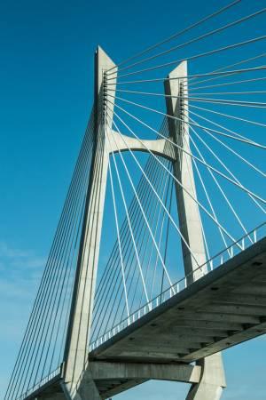 Brückenbauwerk in den Niederlanden