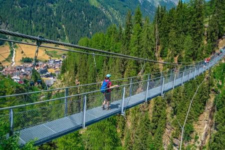 Hängebrücke Ischgl